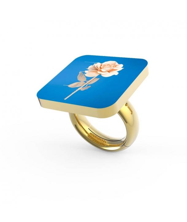 """""""Liquid Rose"""" Ring"""