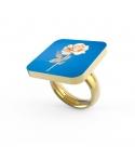 """Liquid Rose"" Personalized Ring"