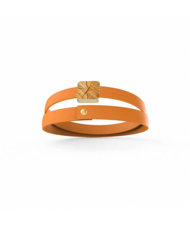 """Venature di Legno"" Bracelet - Light wood"