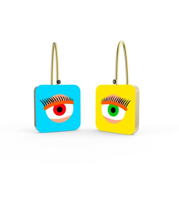 """Visioni Laterali"" Earrings by Finnano Fenno"