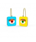"""Visioni Laterali"" Personalized Earrings by Finnano Fenno"