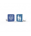 Personalized Cufflinks - Father and son
