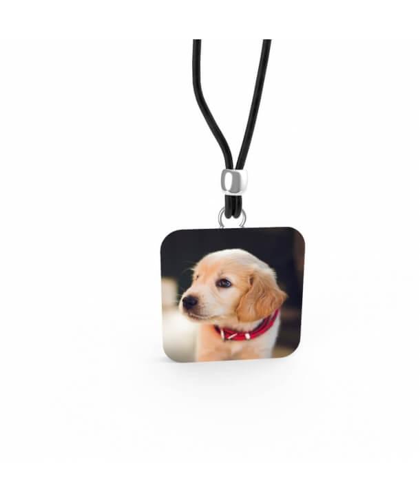 Ciondolo in Argento - Cucciolo Labrador