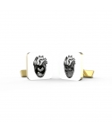 Old Skull Tattoo Cufflinks