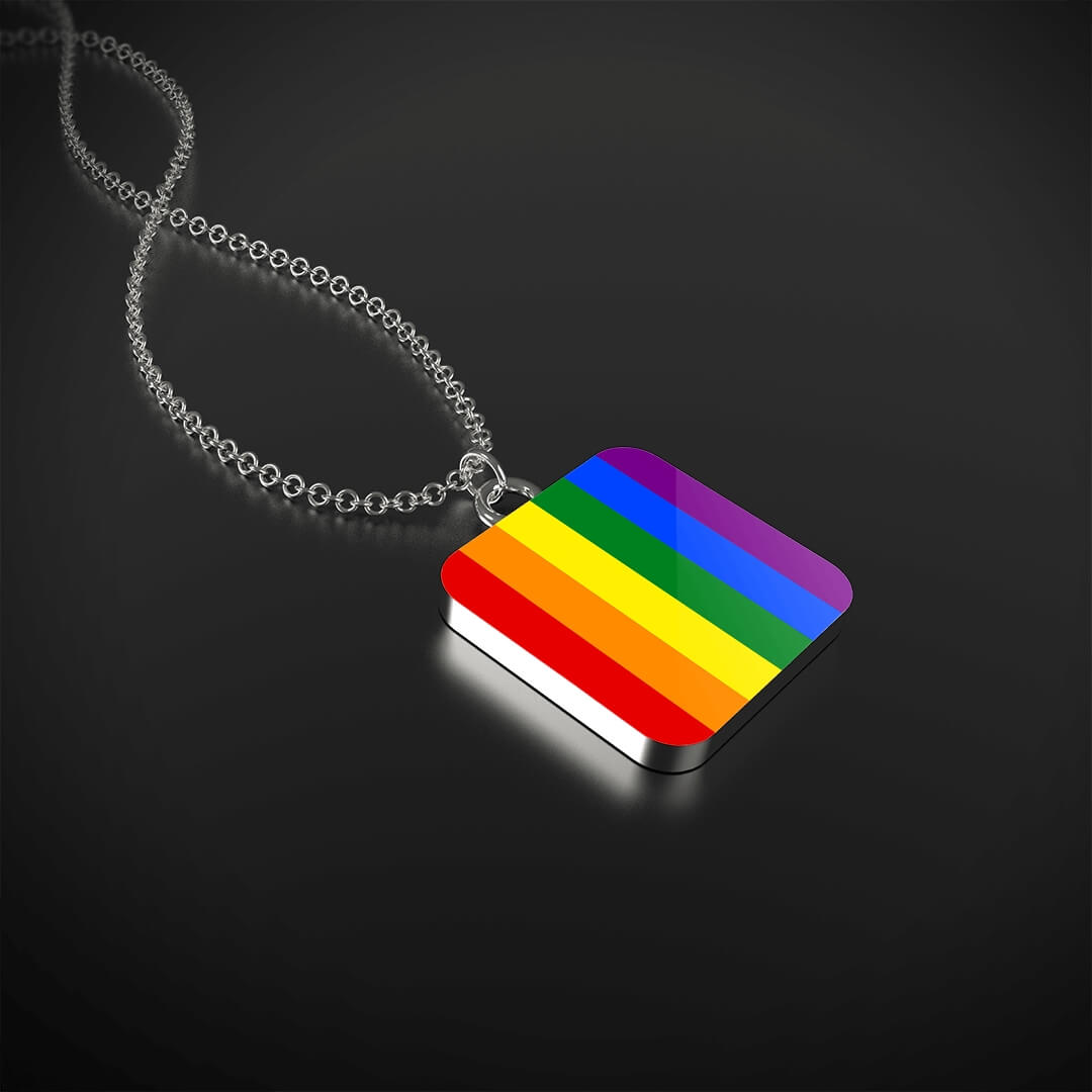 """RAINBOW"" Necklace with Pendant"