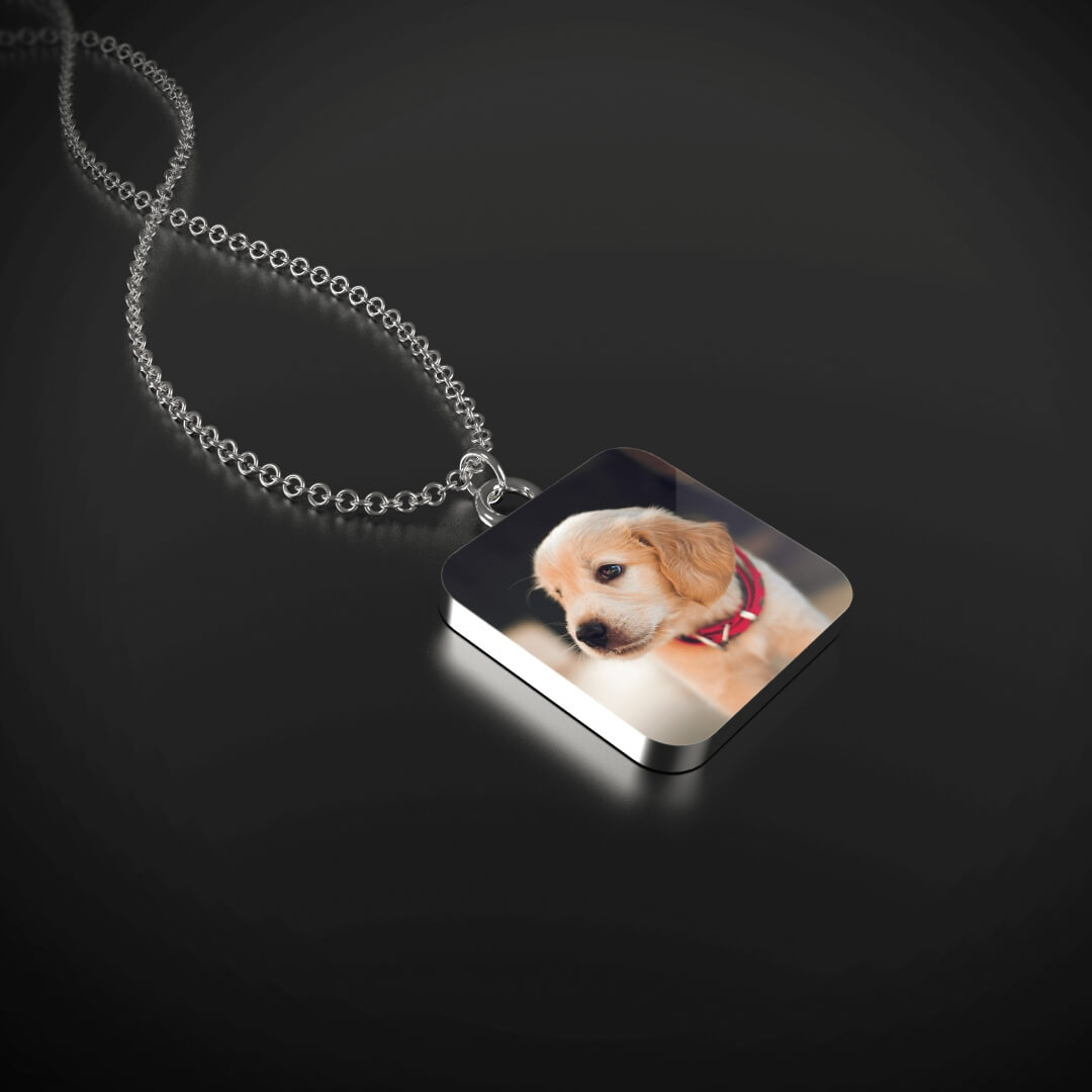Necklace with YOUR DOG's Picture