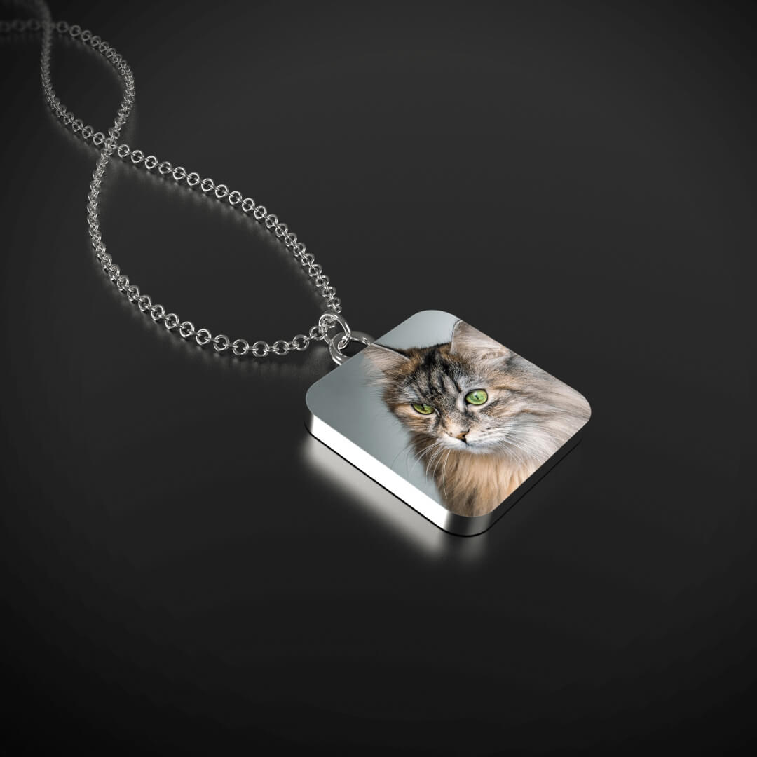 Necklace with YOUR CAT's Picture