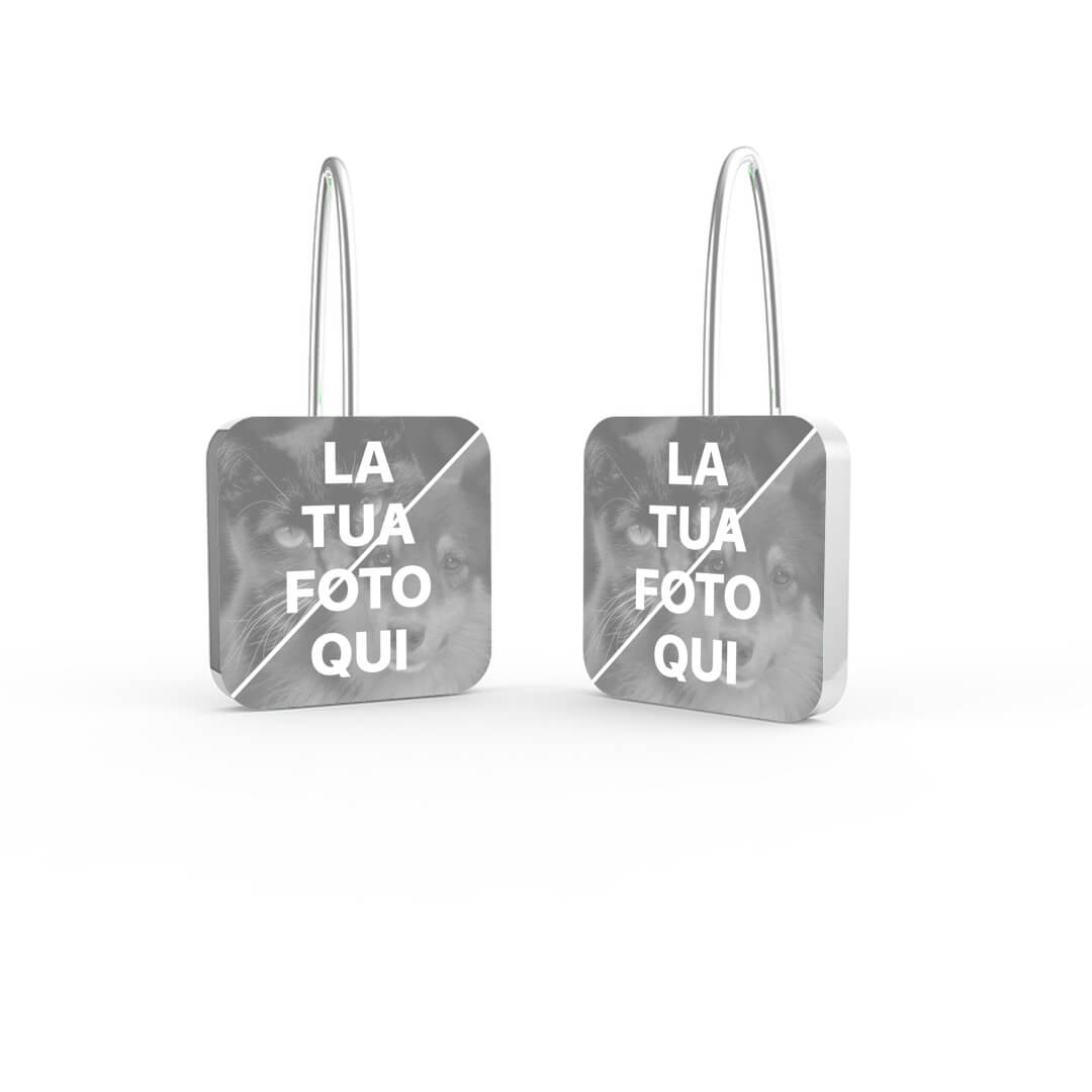 Earrings with Picture