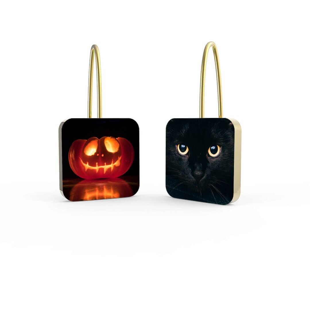 Halloween Personalized Earrings