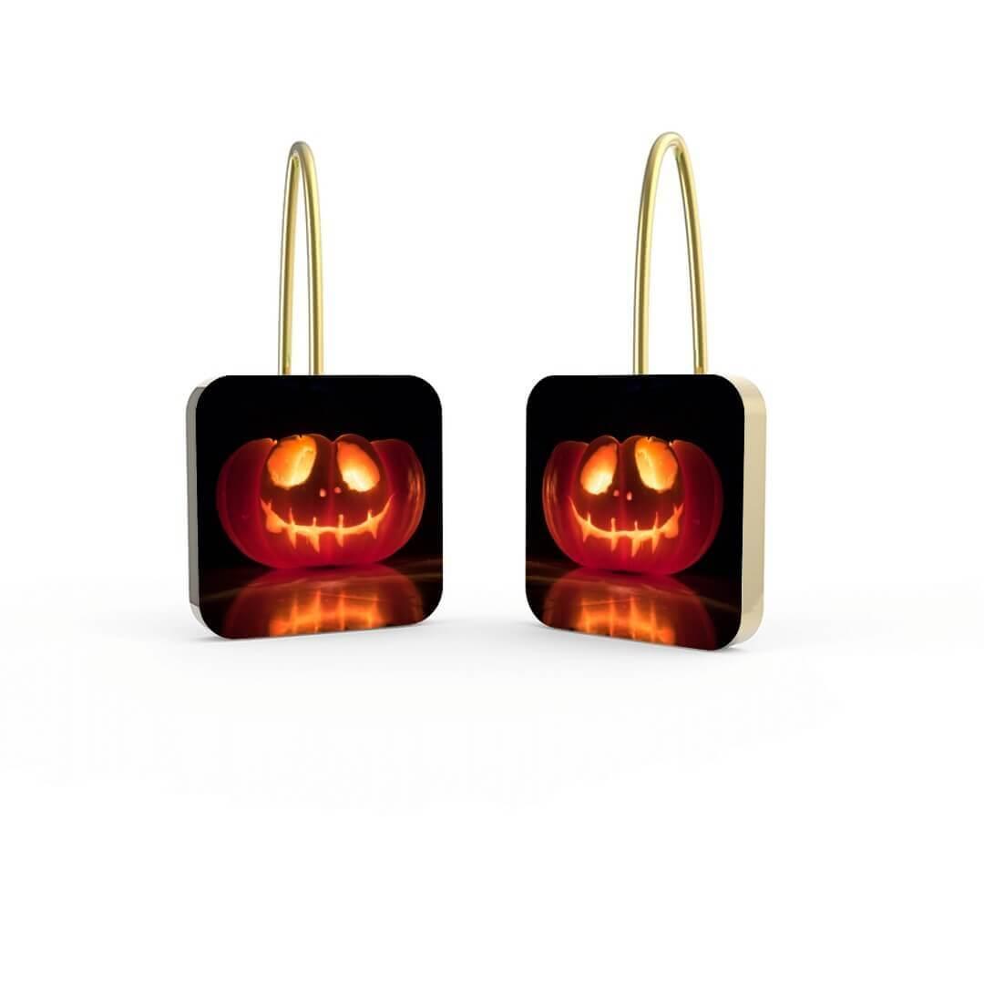 Pumpkins Personalized Earrings