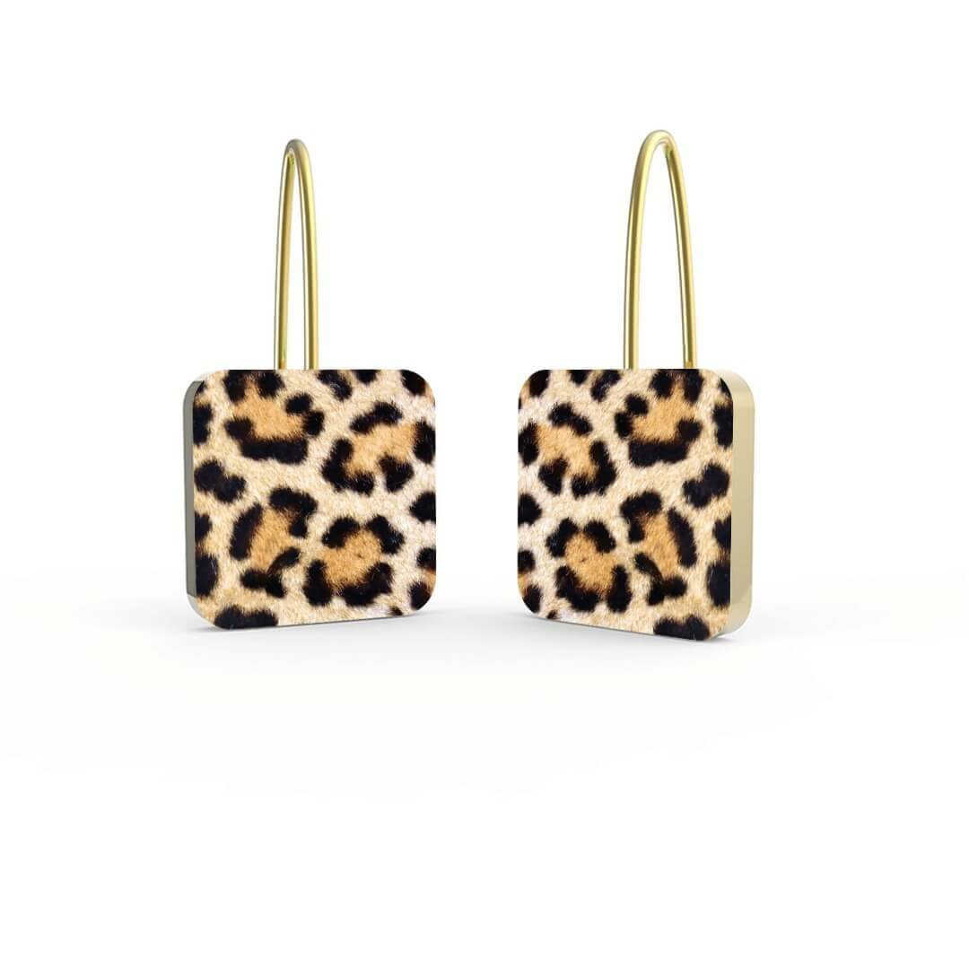 Orecchini Gold Leopard