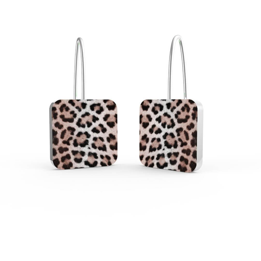 Orecchini Silver Leopard