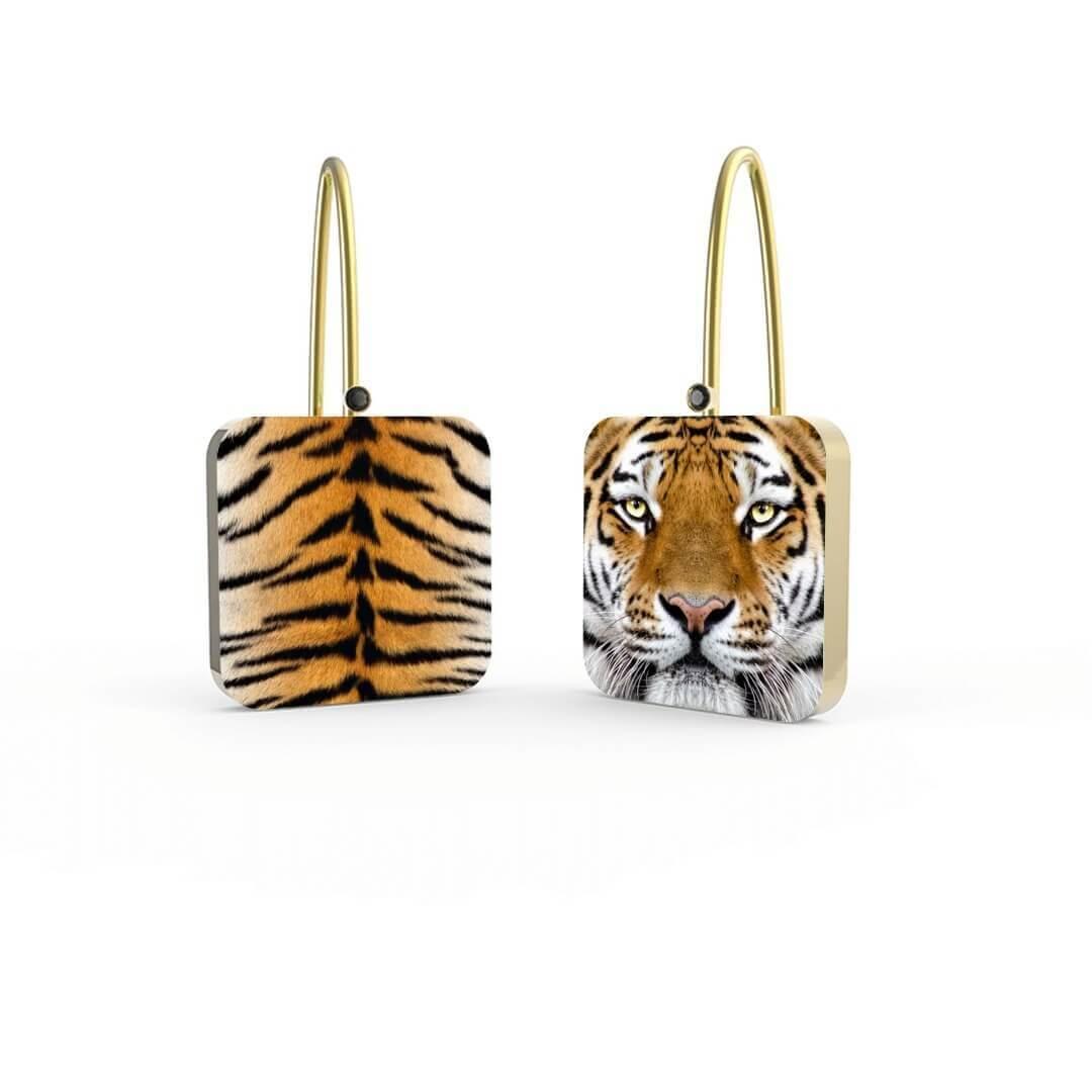 Orecchini Indian Tiger