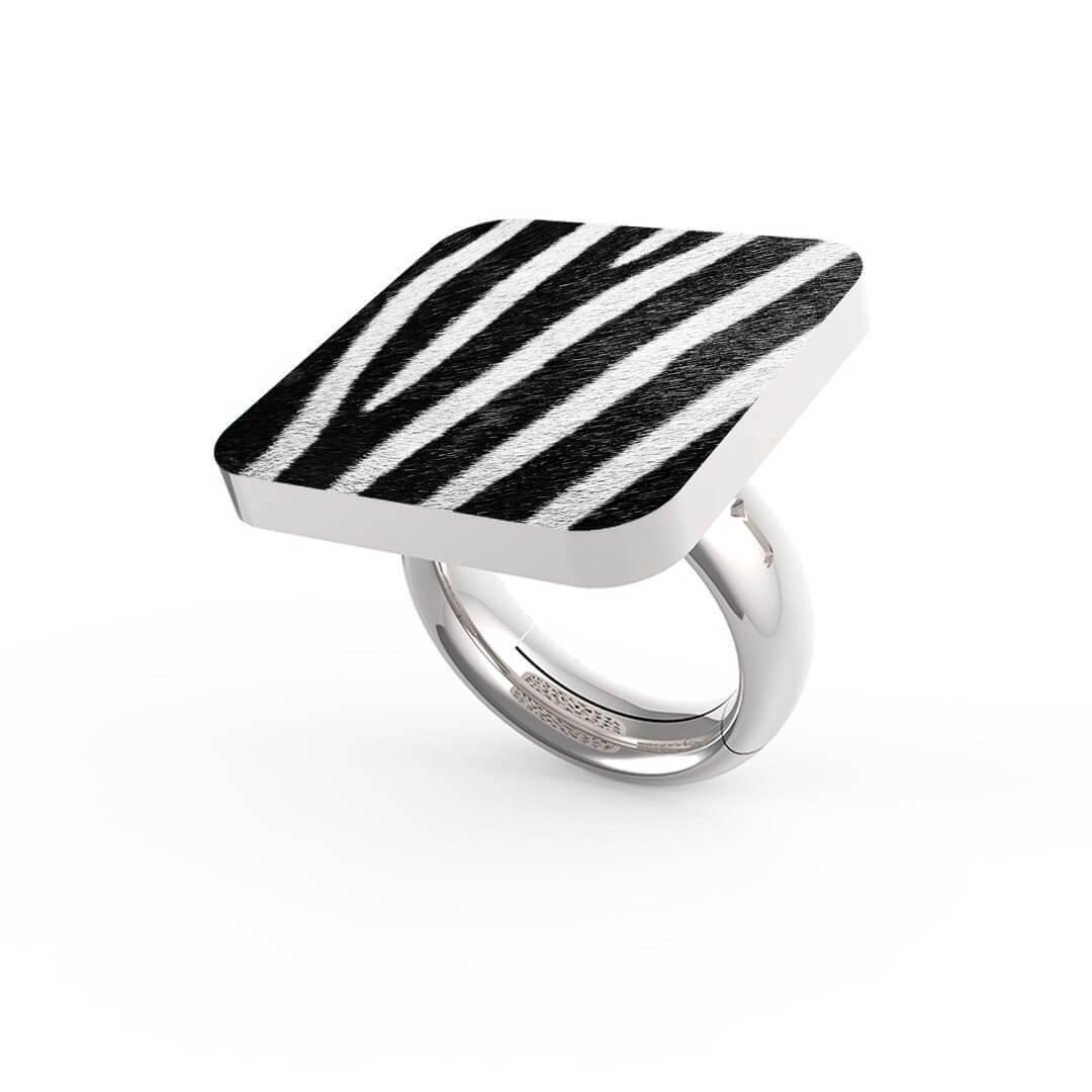 Anello Zebra Stripes