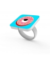 "Ring ""Ain't no Diamond"" by Finnano Fenno"