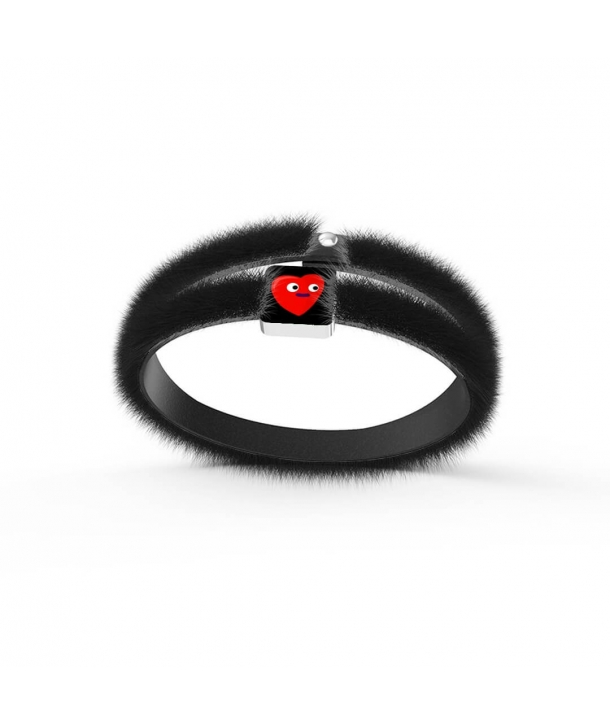 """L'Amore Rosso"" Bracelet by Finnano Fenno"