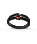 """L'Amore Rosso"" Fur Bracelet by Finnano Fenno"