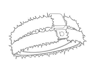 Bracciale Pelliccia personalizzato
