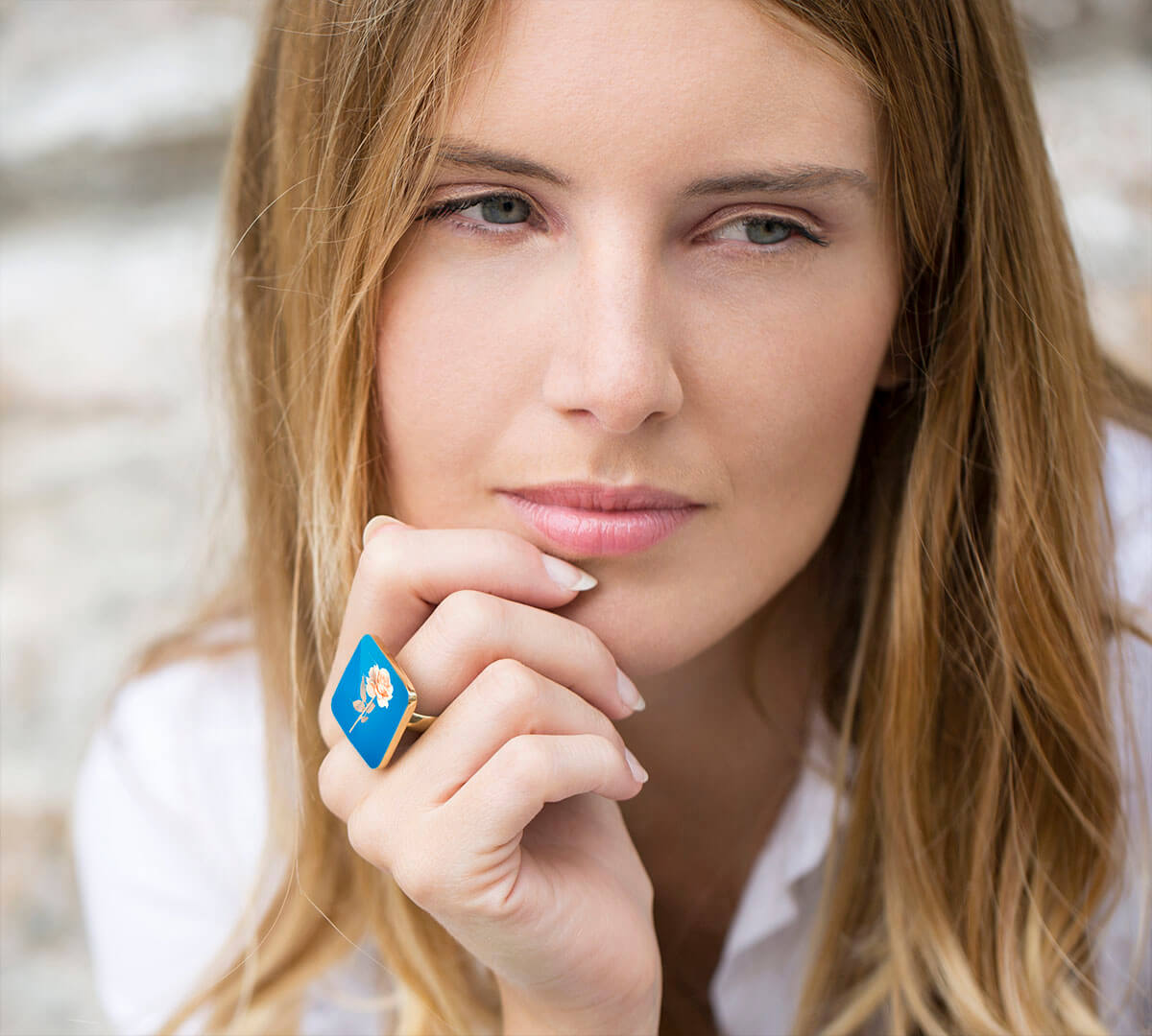 Personalized Ring with Photo